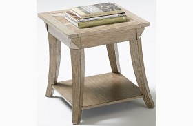 Appeal ll Dark Poplar Rectangular End Table