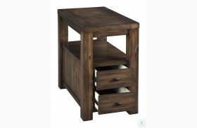 Marleza Brown Chairside End Table