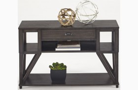 Consort Midnight Sofa/Console Table