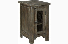 Danell Ridge Brown Chairside End Table
