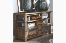 Isabella Farmhouse Timber Rectangular Sofa Table