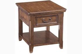 Woodboro Rectangular End Table