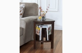 Larimer Triangle End Table