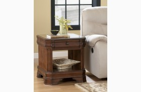 Hamlyn Rectangular Open End Table