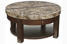 Kraleene Round Lift Top Cocktail Table