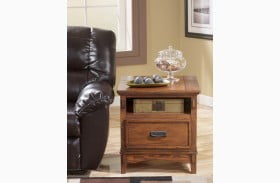 Cross Island Rectangular End Table