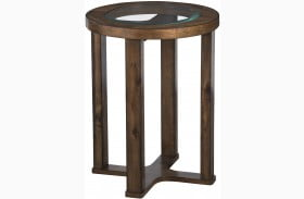 Hannery Brown End Table