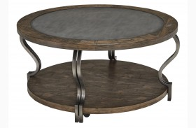 Volanta Round Cocktail Table
