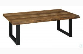 Brosward Natural and Black Coffee Table
