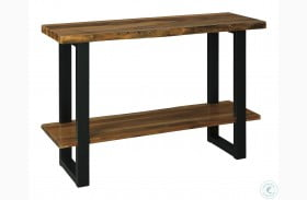 Brosward Natural and Black Console Table
