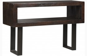 Parlone Deep Brown Sofa Table