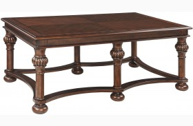 Beisterfield Brown Rectangular Cocktail Table