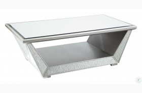 Fanmory Silver Coffee Table