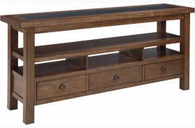 Campfield Brown Console Table