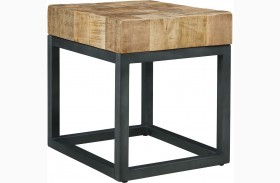 Prinico Two Tone Chair Side End Table