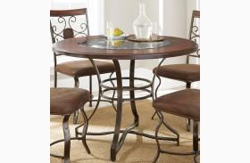 Toledo Gunmetal Round Dining Table
