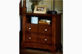 The Cottage Collection Cherry 2 Drawer Commode