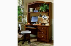 The Cottage Collection Cherry Computer Desk With Hutch