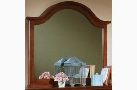 The Cottage Collection Cherry Landscape Mirror