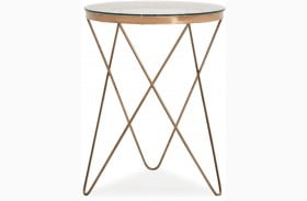 Marquee Rose Gold Table