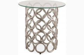 Margo Silver End Table
