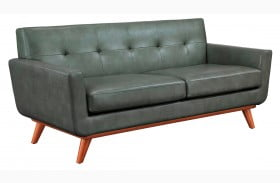 Lyon Smoke Grey Loveseat
