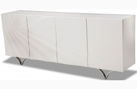 Trance Cosmo White Sideboard