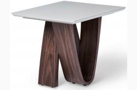 Trance Rapture Brown End Table
