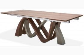 Trance Brown Rapture Rectangular Dining Table