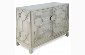 Treviso German Silver Chest