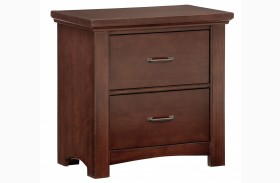 Transitions Cherry 2 Drawer Nightstand