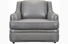 Tulsa Dark Gray Swivel Chair