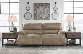 Ricmen Putty Power Reclining Sofa