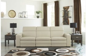 Texline Sand Power Reclining Sofa with Power Headrest