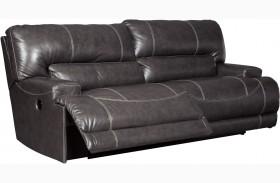 McCaskill Gray 2 Seat Power Reclining Sofa