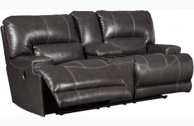 Mccaskill Gray 2 Seat Reclining Power Sectional 0047 94