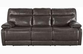 Palladum Metal Power Reclining Sofa