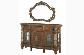 Villa Valencia Sideboard with Mirror