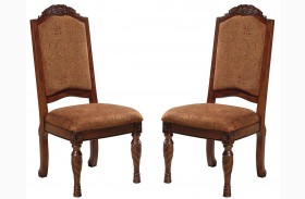 North Shore Upholstered Side Chair Set of 2