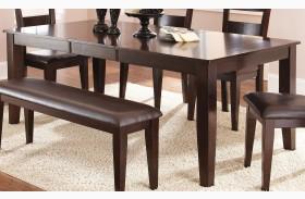 Victoria Dark Espresso Extendable Rectangular Dining Table