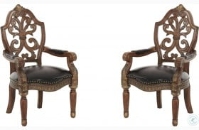 Villa Valencia Leather Arm Chair