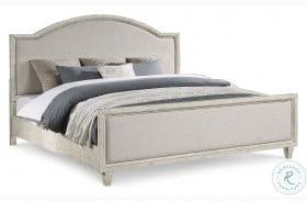 Newport Off Whites Upholstered Full Panel Bed