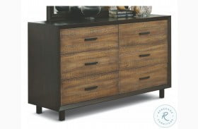 Alpine Walnut And Rustic Dresser