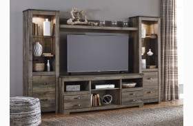 Trinell Brown Entertainment Wall