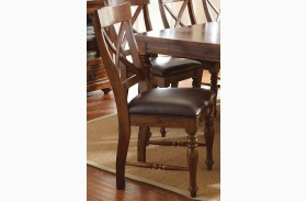 Wyndham Medium Cherry Side Chair Set of 2