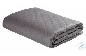 Weighted Grey Personal Performance Blanket