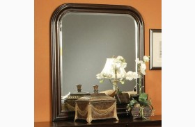 Louis Philippe Deep Cappuccino Mirror