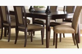 Wilson Merlot Cherry Extendable Rectangular Dining Table