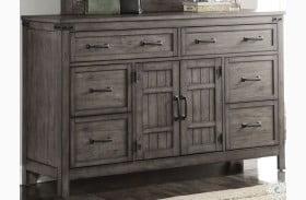 Storehouse Gray Dresser