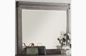 Storehouse Gray Mirror